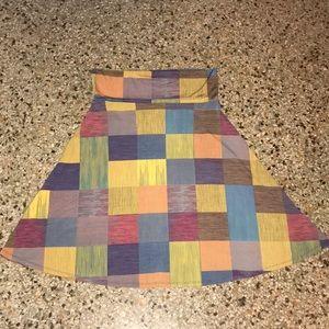 Lularoe Azure Skirt Size Medium